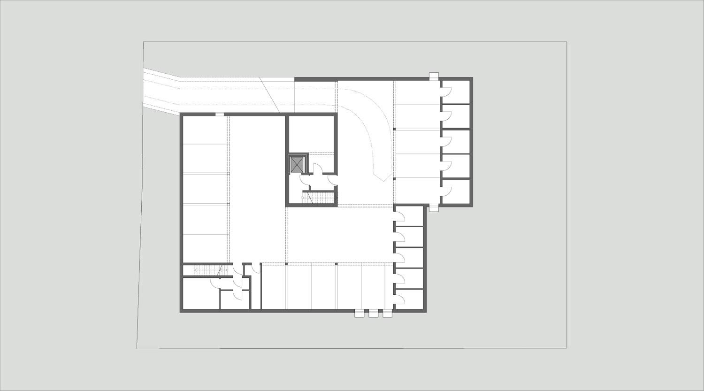 Mehrfamilienhaus Lünen, Untergeschoss, Heiderich Architekten Lünen