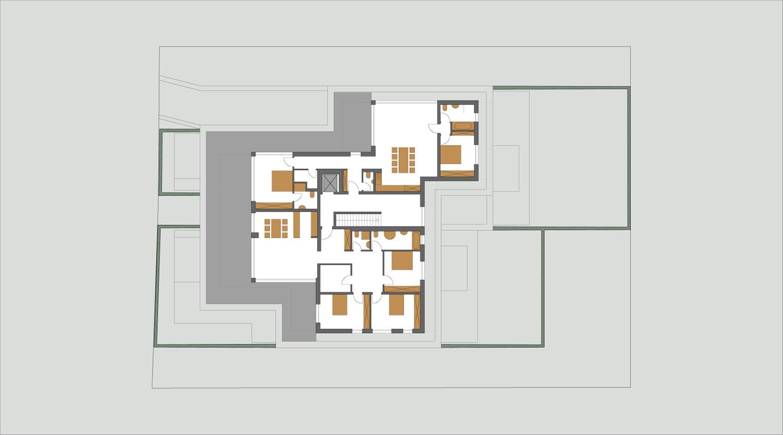 Mehrfamilienhaus Lünen, 3. Obergeschoss, Heiderich Architekten Lünen