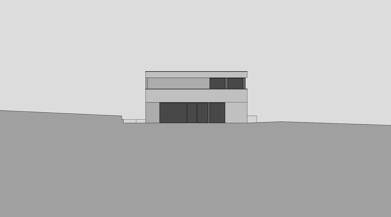 Heiderich Architekten, Lünen, Haus B, Dortmund, Ansicht Nord