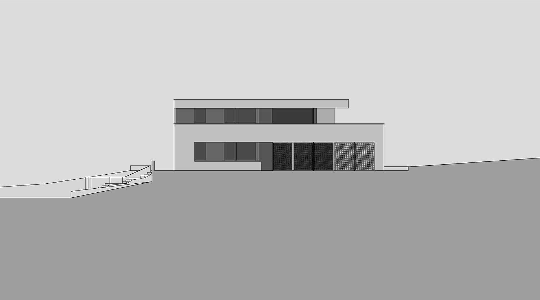 Heiderich Architekten, Lünen, Haus B, Dortmund, Ansicht Ost