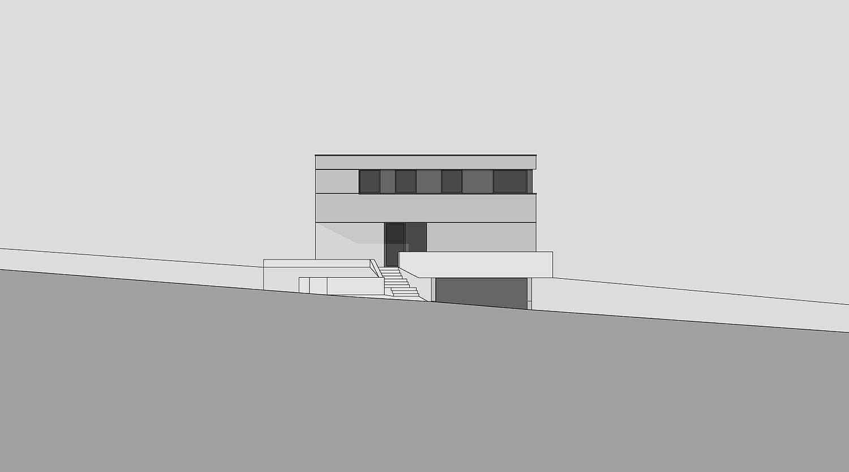 Heiderich Architekten, Lünen, Haus B, Dortmund, Ansicht Süd