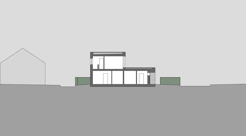 Heiderich Architekten, Lünen, Häuser B, Lünen, Schnitt S