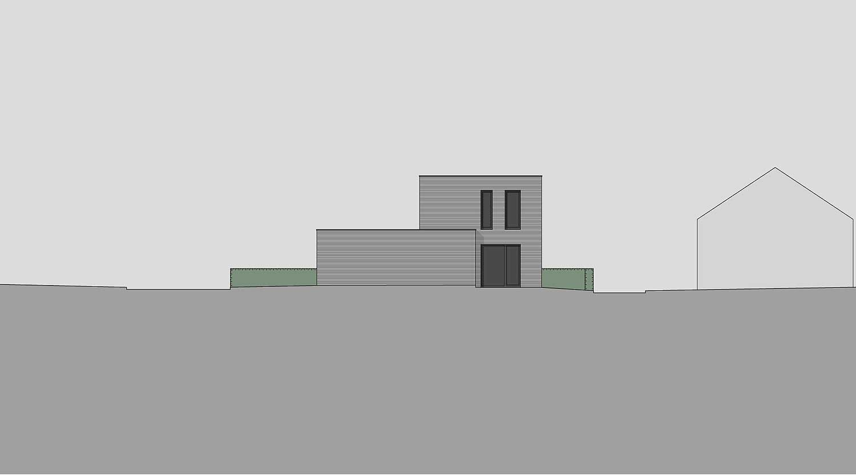 Heiderich Architekten, Lünen, Häuser B, Lünen, Ansicht Ost J
