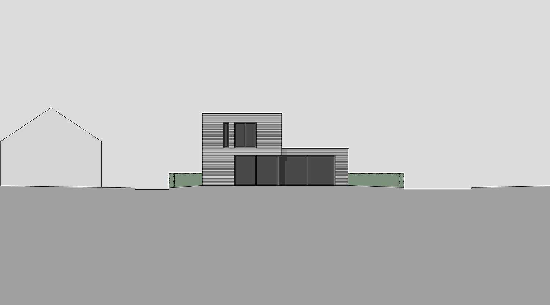 Heiderich Architekten, Lünen, Häuser B, Lünen, Ansicht West J