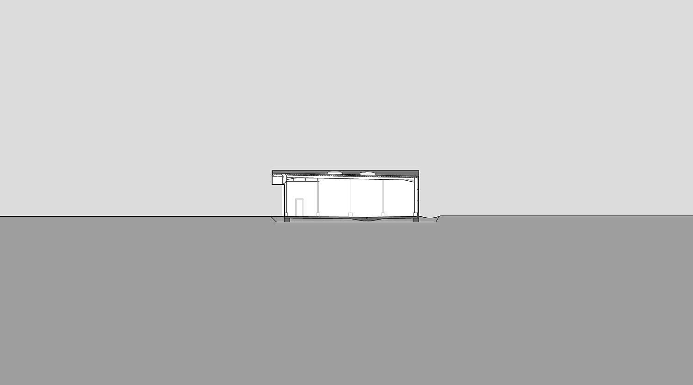 Heiderich Architekten, Lünen, Straßenmeisterei Salzkotten, Querschnitt