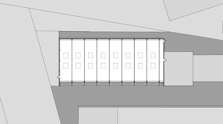 Heiderich Architekten, Lünen, Straßenmeisterei Salzkotten, Grundriss EG