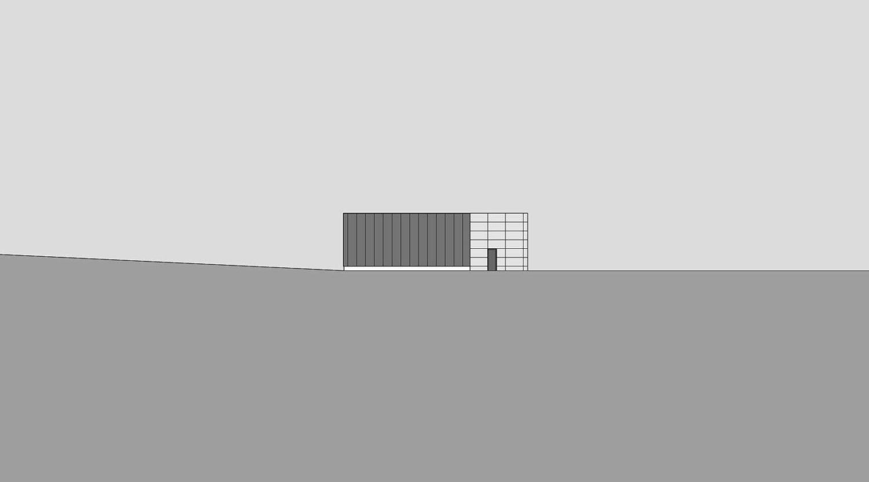 Heiderich Architekten, Lünen, Straßenmeisterei Salzkotten, Ansicht Nord