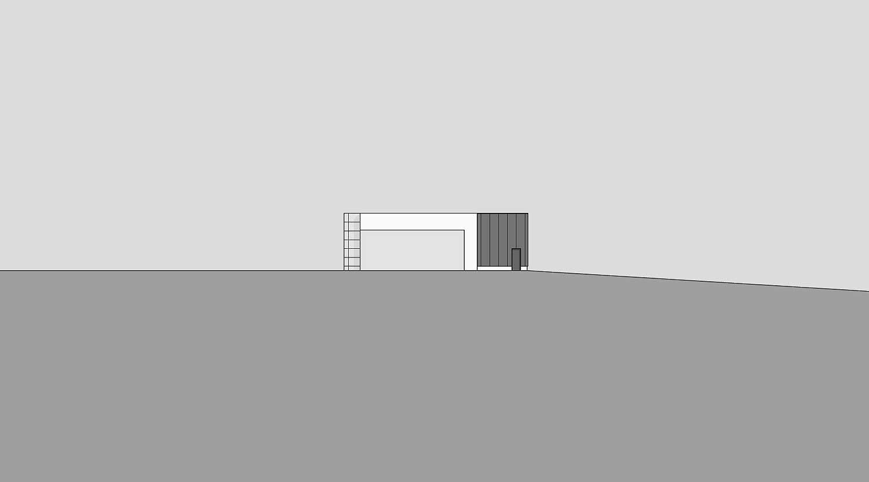 Heiderich Architekten, Lünen, Straßenmeisterei Salzkotten, Ansicht Süd
