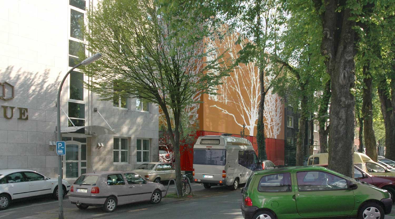 Quartiersgaragen Dortmund Kaiserviertel Perspektive Arndtstraße Heiderich Architekten Lünen